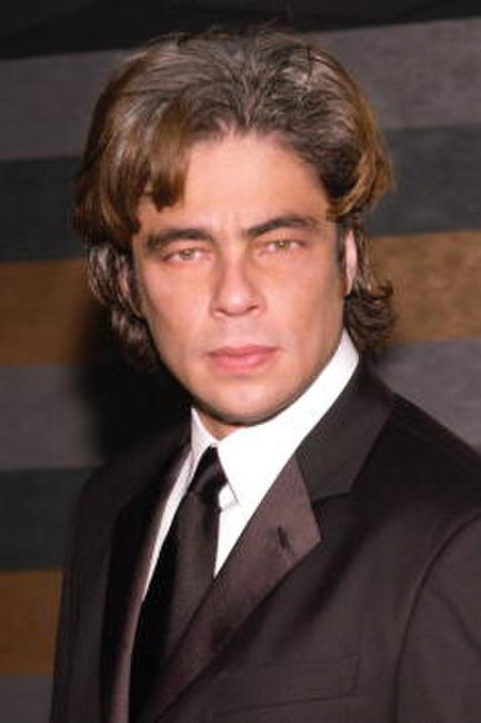 "Benicio Del Toro at the ""Stella By Starlight"" benefit in New York."